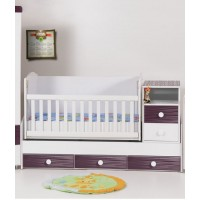 Baby Convertible Colour Combinations Swing Bed Emiliy-Gloss