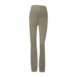 Maternity Beige Overbump Jeans